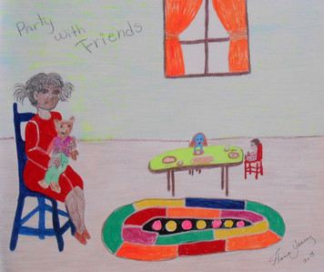 PARTY WITH FRIENDS by Floria Yancey