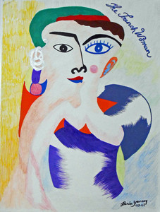 FRENCH WOMAN by Floria Yancey