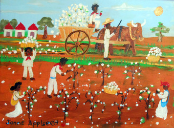 PICKING COTTON by Jonne Applseed