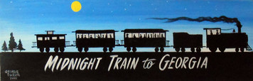 PAINTING - MIDNIGHT TRAIN TO GEORGIA by George Borum