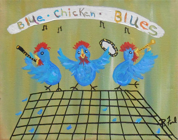 BLUE CHICKEN BLUES by P Ford