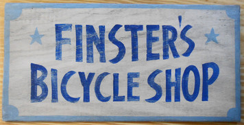 NEW LOW PRICE... FINSTER'S BICYCLE SHOP