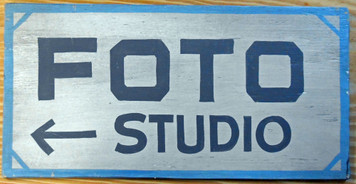 NEW LOW PRICE.... FOTO STUDIO - Photography Shop Sign