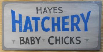 NEW LOW PRICE.... HATCHERY - BABY CHICKEN SIGN