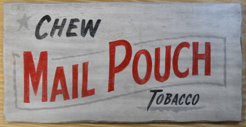 MAIL-POUCH TOBACCO SIGN