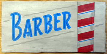 NEW LOW PRICE.... BARBER POLE SIGN
