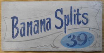 BANANA SPLITS - 39¢