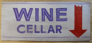 WINE CELLAR SIGN