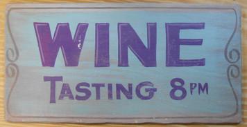 WINE TASTING - 8pm