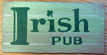 IRISH PUB SIGN