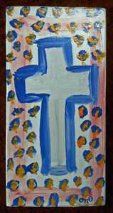 CROSS PAINTING by Otto Schneider