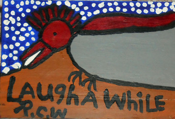 LAUGH A WHILE by Smithsonian Artist RUBY C. WILLIAMS