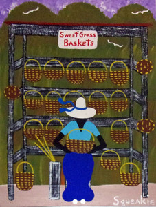 BASKET LADY (3) by Squeakie