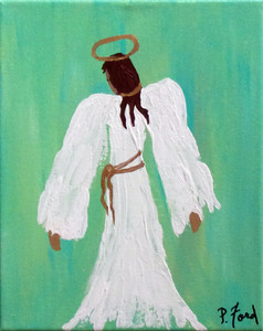 RUSTIC ANGEL by Paulette Ford