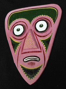 Folk Art 3-D Mask #576  -   by George Borum