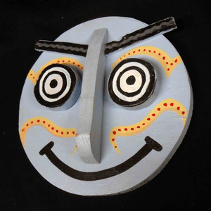 Folk Art 3-D Mask #574  -   by George Borum