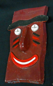 Folk Art 3-D Mask #568 -  by George Borum
