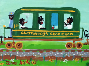 CHATTANOOGA CHOO-CHOO By Jonne Applseed