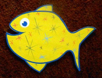 Smiling Fish w/ Stars by George Borum