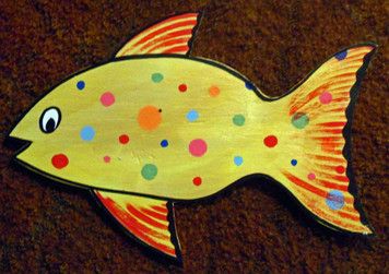 FISH w/ Polka-Dots by George Borum