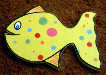 Cut-Out FISH w/ Polka-Dots by George Borum
