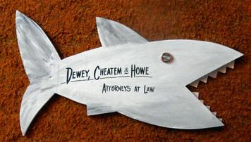 SHARK- Dewey, Cheatem & Howe by George Borum