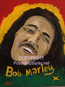 BOB MARLEY Portrait  ••• by ALAN the Portrait Guy