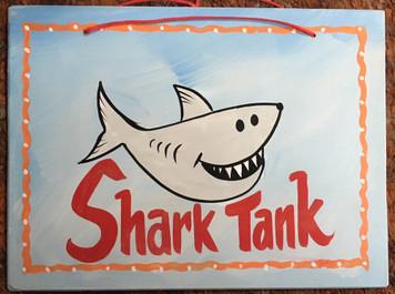 SHARK TANK PAINTING