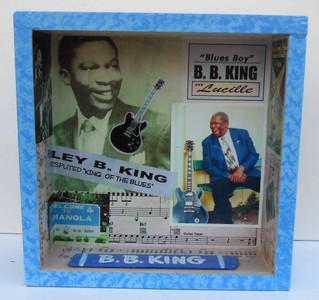 B B King - Bluesman - Shadow Box by George Borum