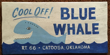 BLUE WHALE POOL - Rt 66 - Catoosa, Oklahoma