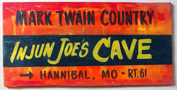 INJUN JOE CAVE - HANNIBAL MO - MARK TWAIN