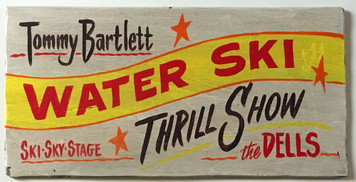 TOMMY BARTLETT - WATER SKY - THRILL SHOW - WISCONSIN DELLS