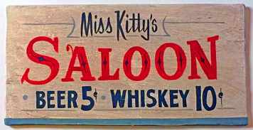 MISS KITTY'S SALOON - DODGE CITY KS - GUNSMOKE