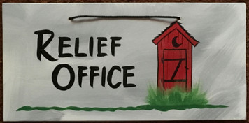 RELIEF OFFICE OUTHOUSE - 2619