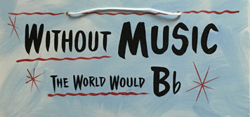 WITHOUT MUSIC -- THE WORLD WOULD B FLAT