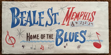BEALE STREET - MEMPHIS - TENNESSEE - Home of the BLUES MUSIC