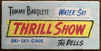 TOMMY BARTLETT - THRILL SHOW - Wisconsin Dells