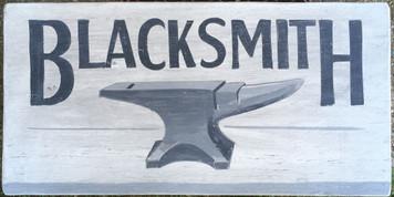 Old Time BLACKSMITH - ANVIL Sign