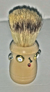 Tan - SHAVING BRUSH MAN by Steve Meadows