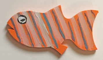 COLORFUL FISH Cut-out #11 - by Steve Knight