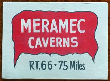 "MERAMEC CAVERNS - RT 66 - Missouri - Size: 12"" x 16"""