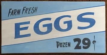 EGGS - 29¢ Dozen