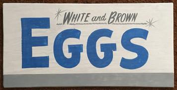 WHITE & BROWN EGGS