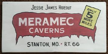 MERAMEC CAVERNS - RT 66 - MISSOURI - # 2873