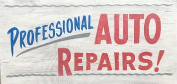 Professional AUTO REPAIRS Sign