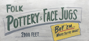 FOLK POTTERY & FACE JUGS - Georgia