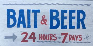 BAIT & BEER - 24 hours - 7 Days