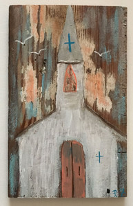 RUSTIC LOUISIANA CHURCH #2 by Paulette Ford