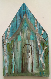 RUSTIC LOUISIANA CHURCH #4 - by Paulette Ford
