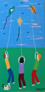 Flying Kites by Jimmy W.